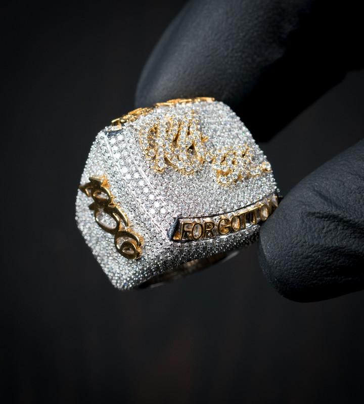 Championship Ring Designed By. Tim Da Jeweler