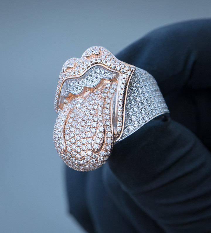 Rolling Stones Ring  Designed By. Tim Da Jeweler