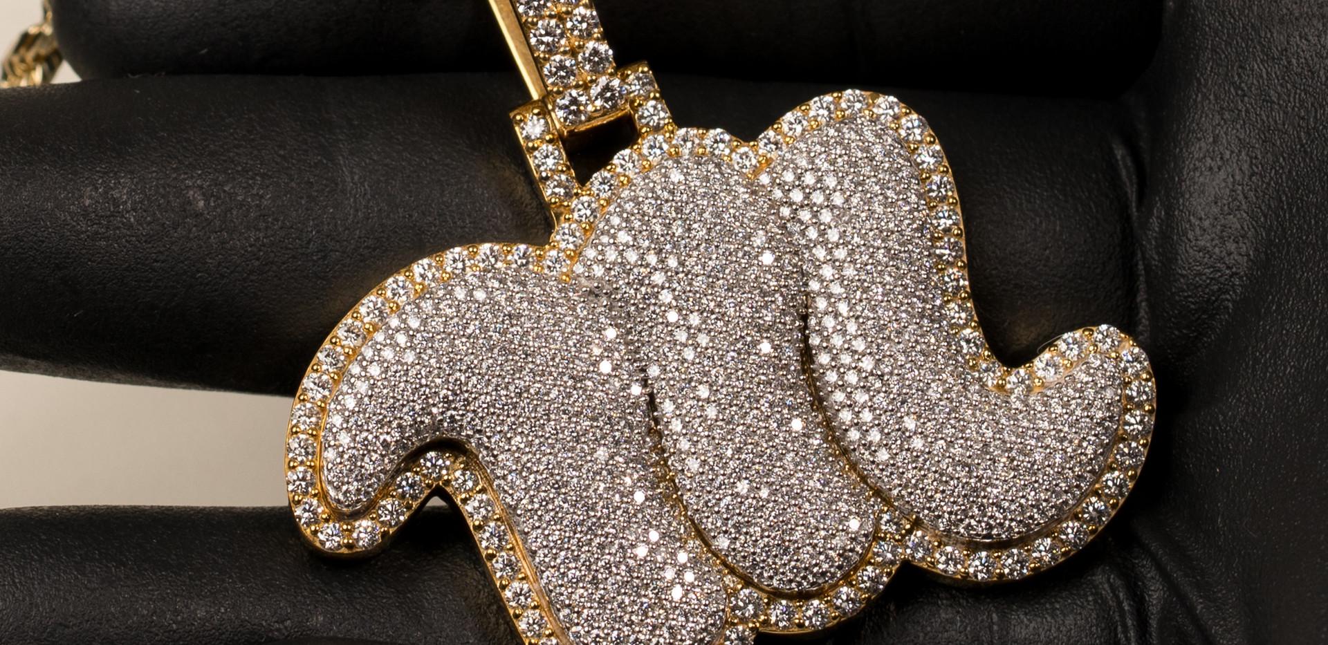 Custom M Piece Designed By. Tim Da Jeweler