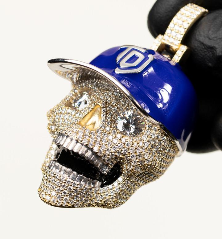 TDJ Skull Pendant