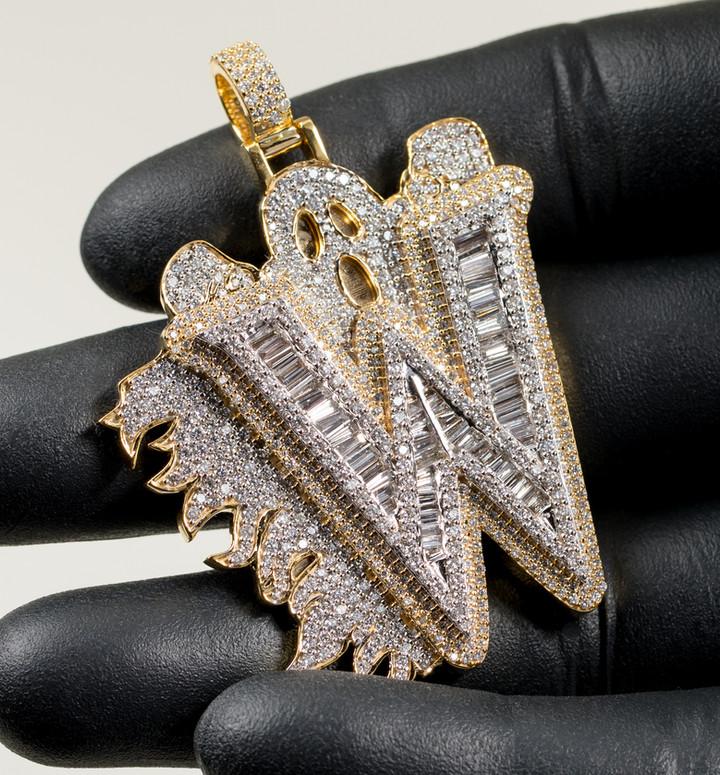 Ghost W Pendant Designed By. Tim Da Jeweler