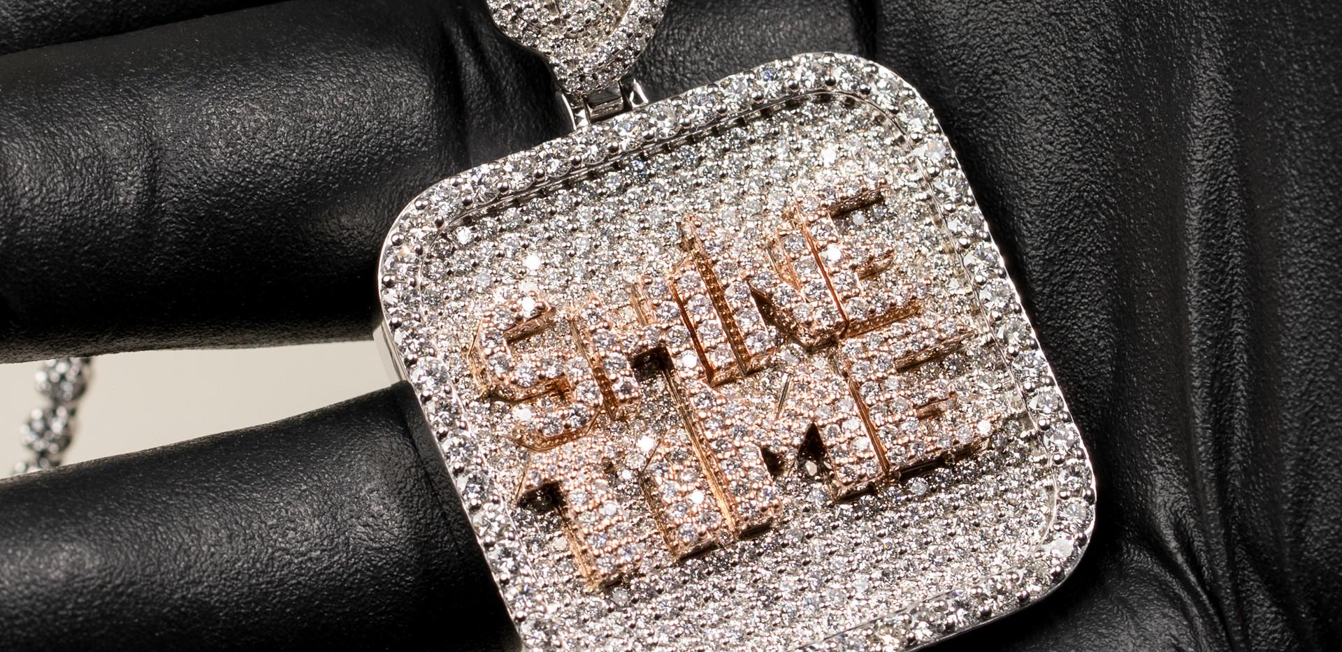 Shine Time Pendant Designed By. Tim Da Jeweler