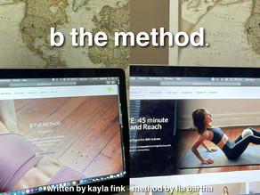 B the Method