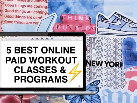The 5 Best Online Workout Classes & Programs