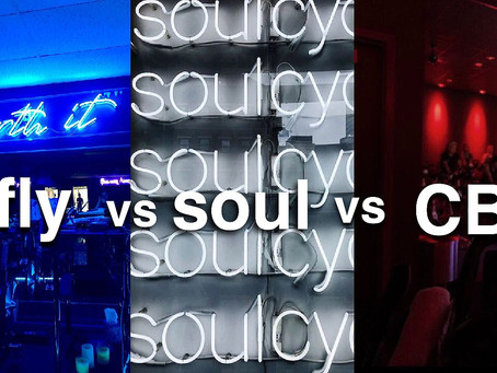 Fusion Fly vs SoulCycle vs CycleBar