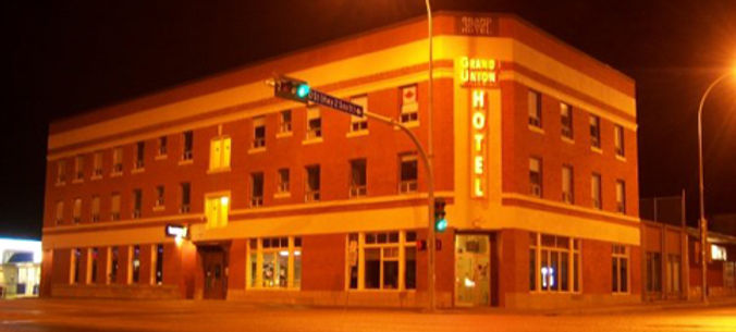 Grand Union Hotel   Athabasca Alberta Hotel