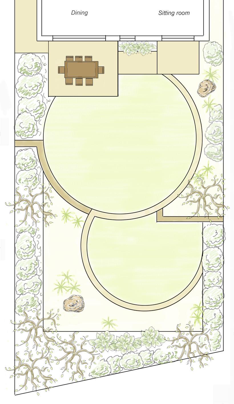 garden design for family garden,