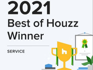Best of Houzz Award - for customer satisfaction
