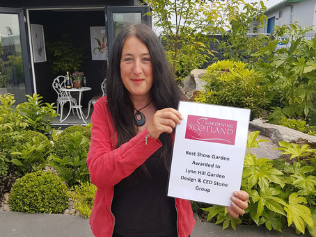 Best in Show! - Garden Retreat wins award at Gardening Scotland 2018