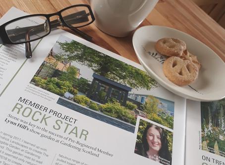 Hot off the press... the Garden Design Journal