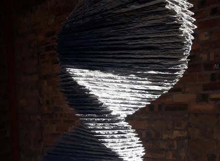 Slate sculpture 'vortex'... a sneaky peak!