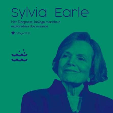 Sylvia Earle, uma inspiração