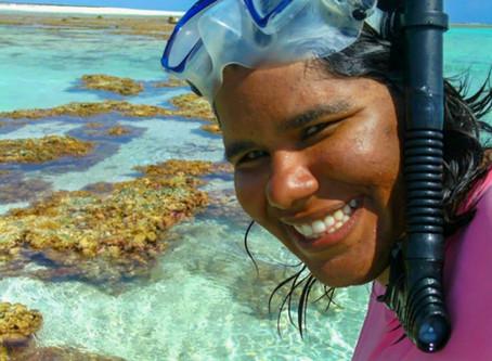 LIGA CONVIDA : Conheça Barbara Ramos Pinheiro, bióloga, mergulhadora e pesquisadora. Etapa1