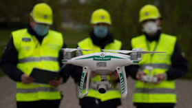 Via libera ai droni nel contrasto al Covid-19