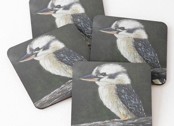 Australian Kookaburra Coasters