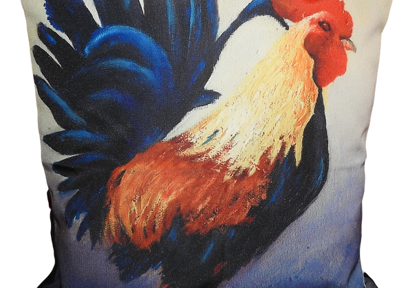 Roger the Rooster Cushion Cover