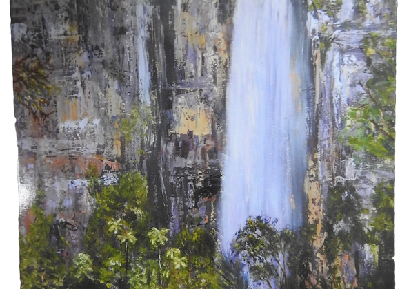 Nth Qld Waterfall - Blank Card