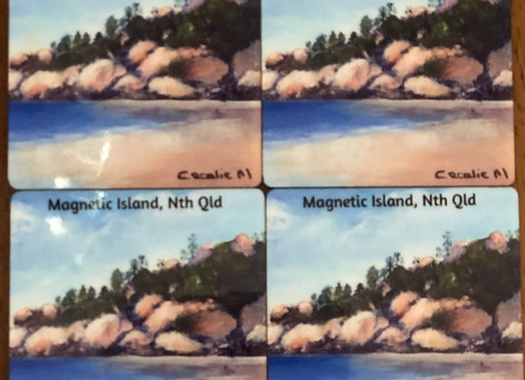 Magnetic Island, Nth Qld Coaster Set