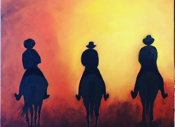 Sundown - from my new Bush Riders Series