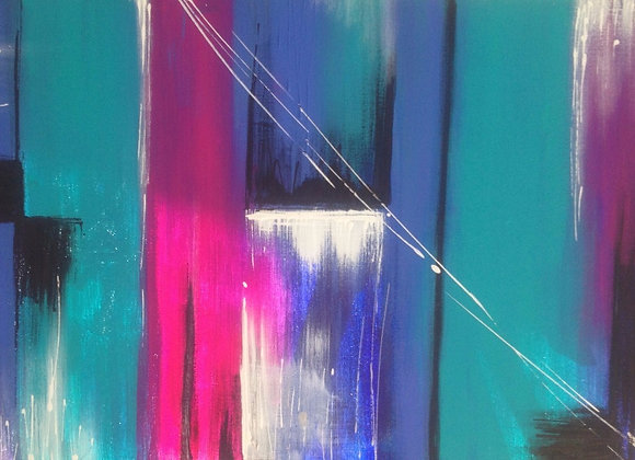 Purple Rain Abstract
