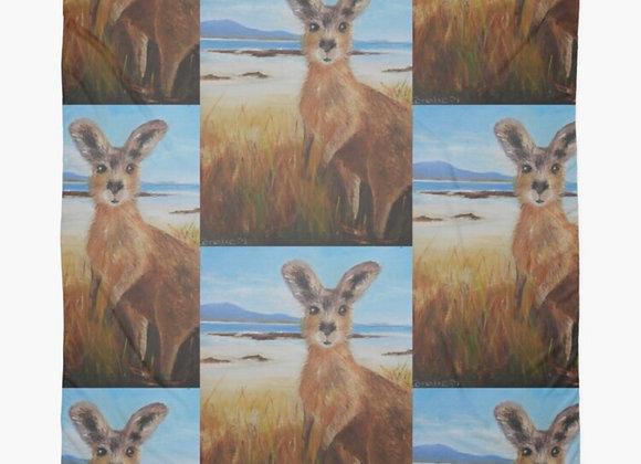 On the beach - Australian Kangaroo
