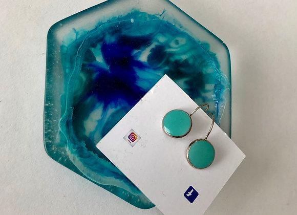 Resin Jewellery Tray & earrings
