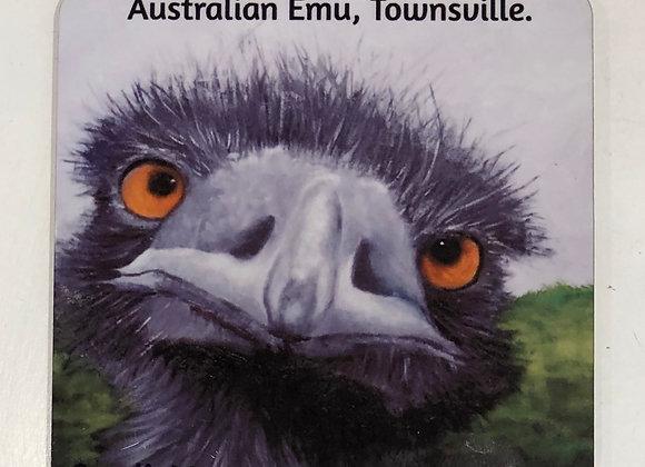 Drink Coasters Emu