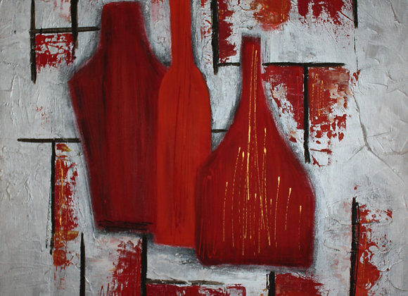 Abstract bottle