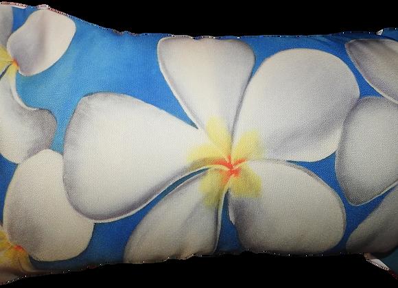 Frangipanni Blue Cushion Cover