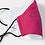 Thumbnail: Splash pink -Adult face mask
