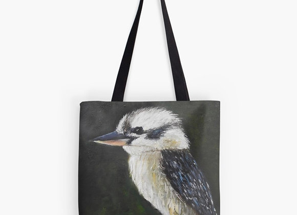 Australian Laughing Kookaburra Tote Bag