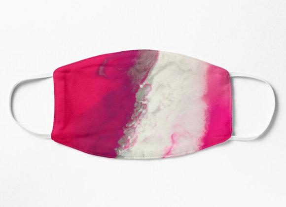 Splash pink -Adult face mask