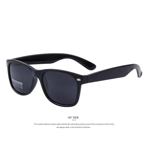 MERRY'S Men Polarized Sunglasses Classic Men Retro Rivet Shades Brand Designer