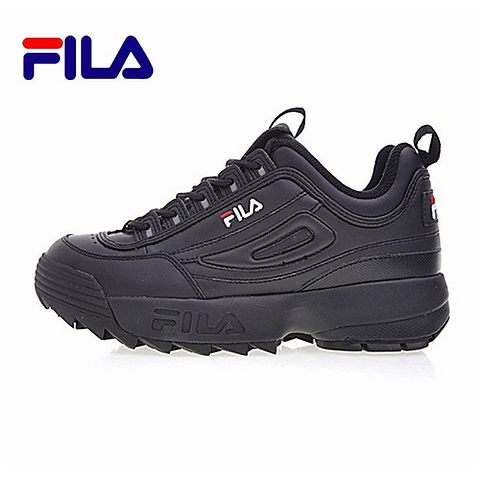 FILA FWO1655 122 Disruptor II 2 running shoes sport shoes men breathable Smssporting  Smssporting