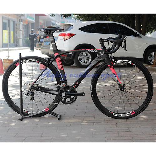 JAVA Feroce Carbon 700C Road Bike with 105 5800 Full Group Aluminium Wheels 22