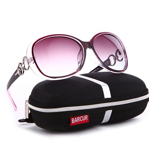 BARCUR New Polarized Sunglasses Women Brand Designer Female Sunglass Vintage