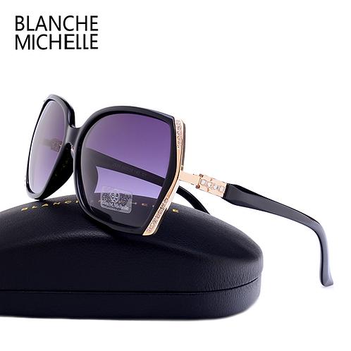 Polarized Sunglasses Women Brand Designer UV400 Sunglass Gradient Lens Driving S