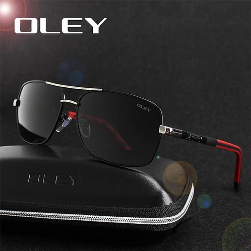 OLEY Brand Polarized Sunglasses Men New Fashion Eyes Protect Sun Glasses With