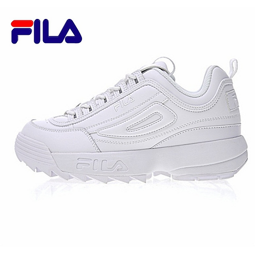 FILA FWO1655 122 Disruptor II 2 running shoes sport shoes men breathable