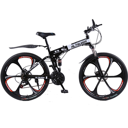 Hot Sale Altruism Mountain Bikes 26-Inch Steel 21-Speed Bicycles X9 Dual Disc