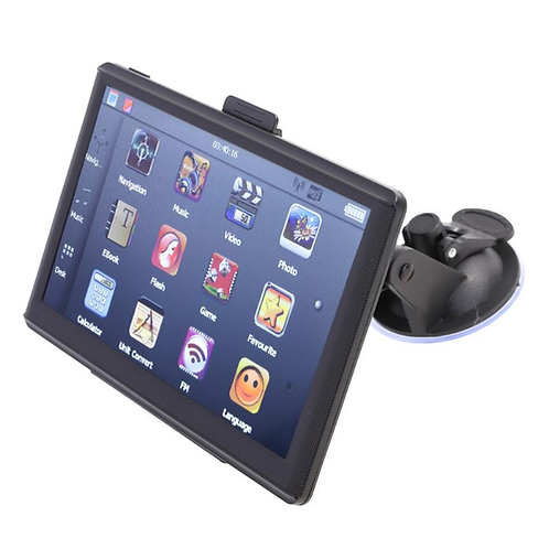 7 inch HD Car GPS Navigation Capacitive Screen FM 8GB Vehicle Truck GPS Car