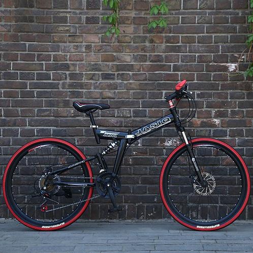 26inch folding mountain bike 21 speed mountain bicycle double disc brake bike Ne