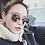Thumbnail: cat eye pink sunglasses woman shades mirror female square sun glasses for women