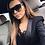 Thumbnail: MOLNIYA Oversized Square Sunglasses Women Designer Brand Big one lens mans black