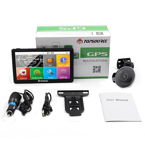 "TOPSOURCE 7"" Car Truck vehicle GPS Navigation mtk ce6.0 800Mhz 8GB gps navigator"