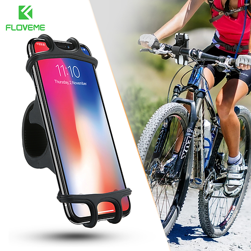 Universal Bicycle Mobile Phone Holder For iPhone X Motorcycle Bike Handlebar