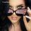 Thumbnail: Women Colour Luxury Flat Top Cat Eye Sunglasses Elegant oculos de sol men Twin