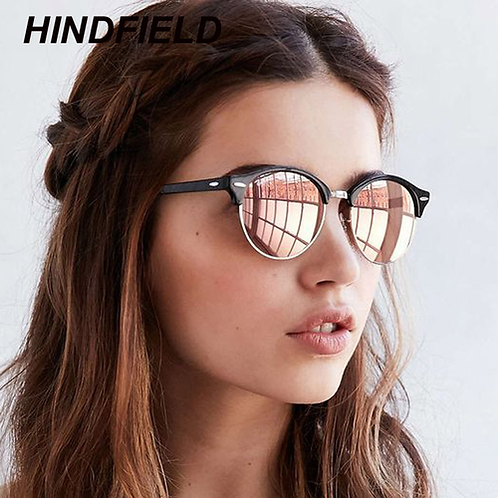 Polarized Sunglasses Women 2018 Cool Round Sun Glasses Fashion Driving Eyewear