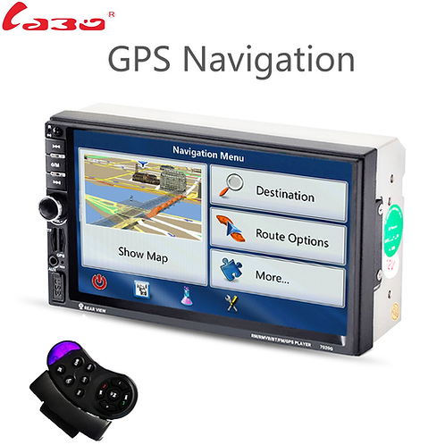 LaBo 2DIN New universal Car Radio Double Car MP5 Player GPS Navigation In dash