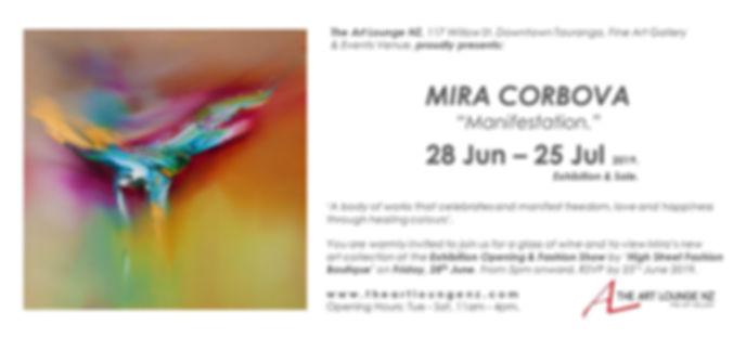 MIRA CORBOVA Manifestation Exhibition &